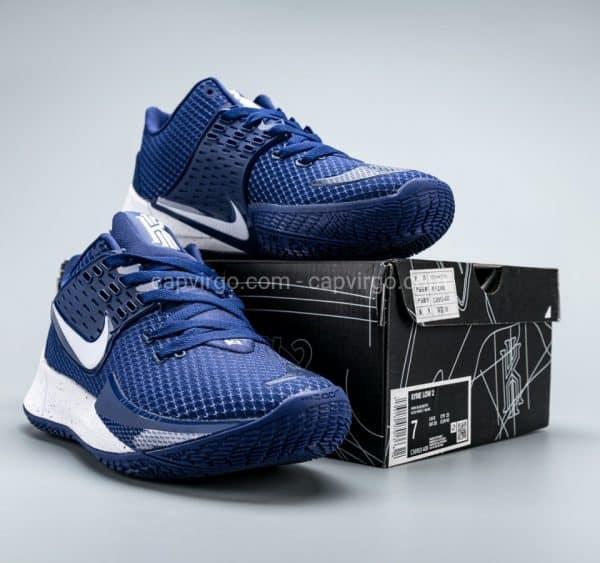 Giày Nike Kyrie Low 2 màu xanh logo trắng