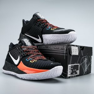 Giày Nike Kyrie Low 2 màu đen trắng cam