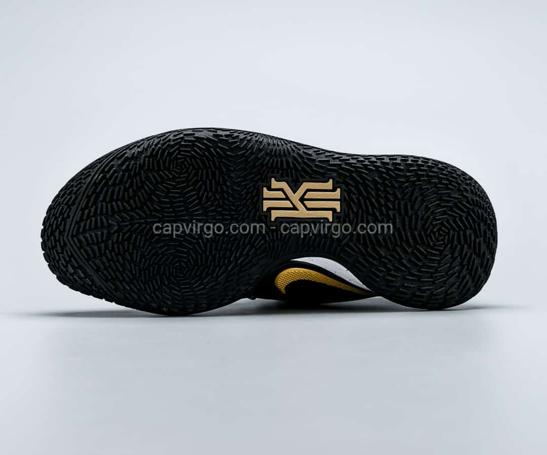 Giày Nike Kyrie Low 2 màu đen viền vàng đồng
