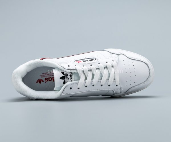 Giày Adidas Continental drop step màu trắng
