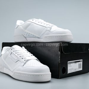 Giày Adidas Continental drop step full trắng