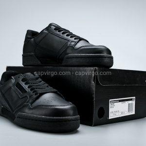 Giày Adidas Continental drop step fulll đen