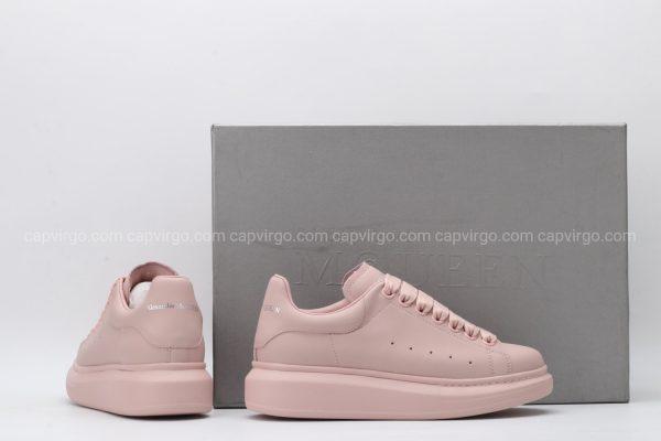 Giày McQueen full màu nâu hồng