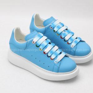 Giày McQueen màu xanh dây 2 màu