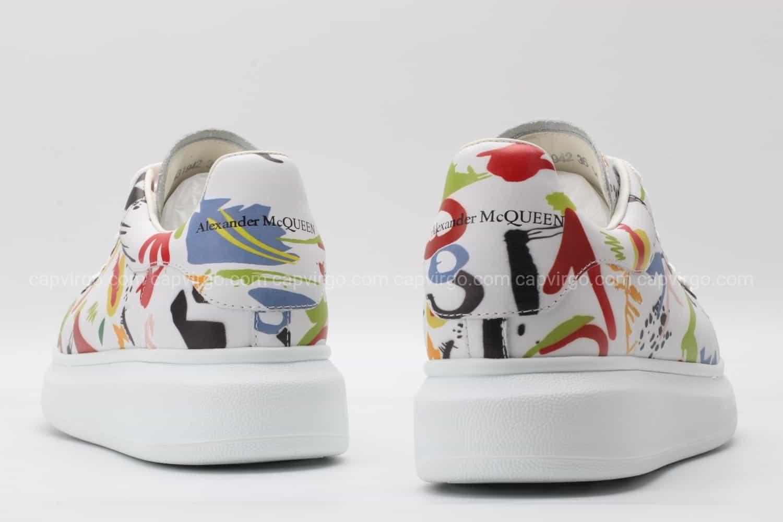 Giày McQueen siêu cấp họa tiết Paint đẹp