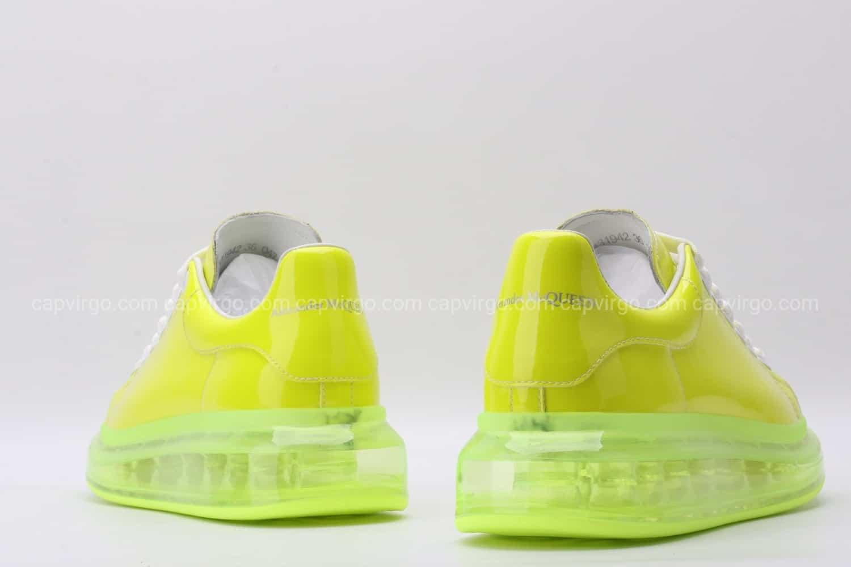 Giày McQueen đế hơi màu vàng chanh