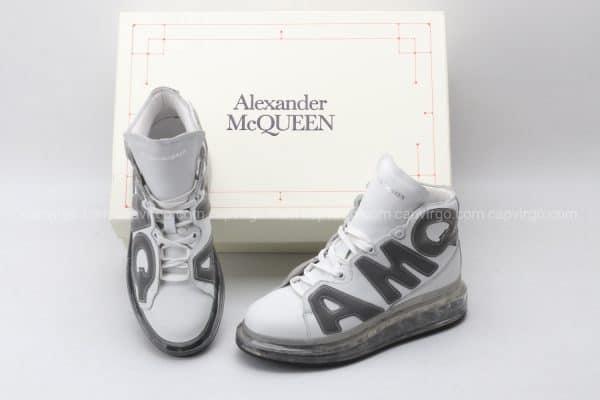 Giày McQueen cao cổ đế hơi AMQ