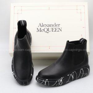 Giày McQueen siêu cấp cao cổ full đen
