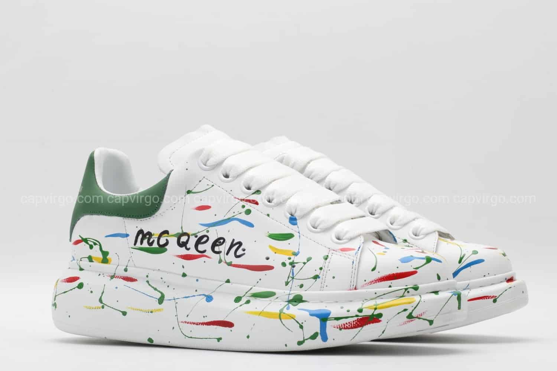 Giày McQueen rep 1:1 họa tiết paint
