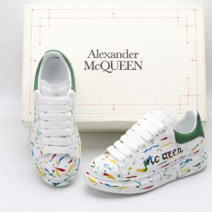 Giày McQueen rep 1:1 họa tiết paint