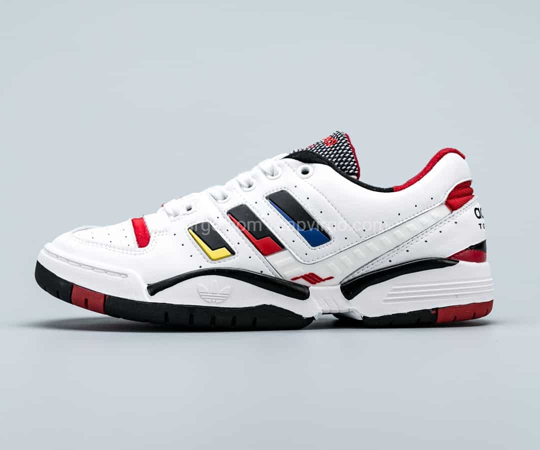 Giày Adidas Nam Torsion Edberg Comp màu trắng vạch 3 màu