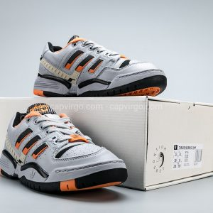 Giày Adidas Nam Torsion Edberg Comp màu xám vạch cam