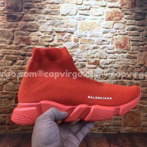 Giày Balenciaga cao cổ màu full đỏ