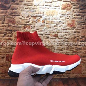 Giày Balenciaga cao cổ màu đỏ đế trắng đen