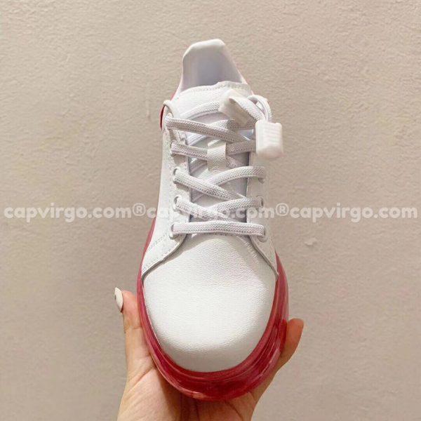 Giày trẻ em Alexander mcqueen trắng hồng đế trong