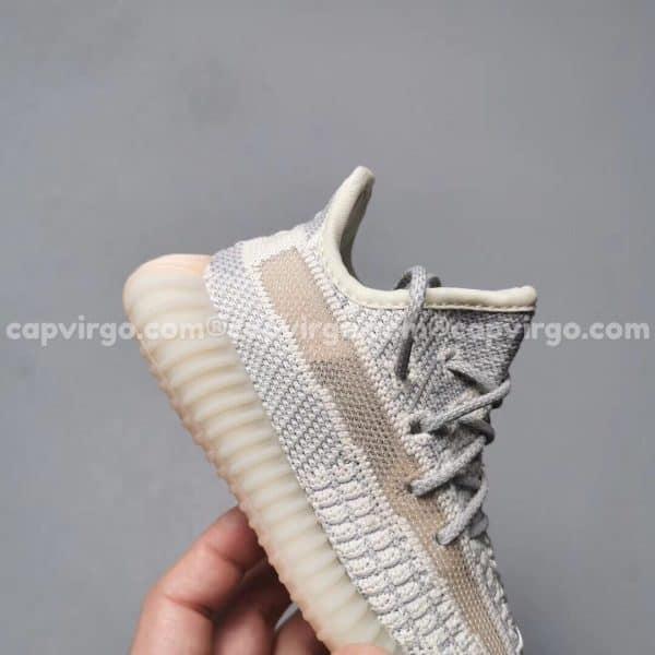 Giày trẻ em Yeezy 350 màu xám cam PK GOD