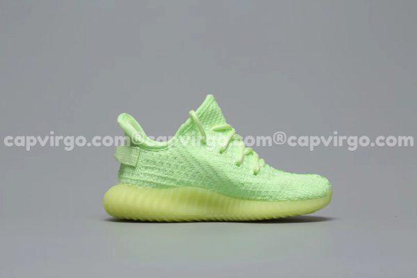 Giày trẻ em Yeezy 350 màu xanh lá PK GOD