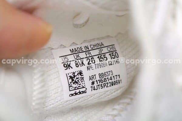 Giày trẻ em Yeezy 350 màu trắng PK GOD