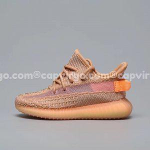 Giày trẻ em Yeezy 350 màu nâu cam PK GOD