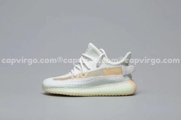 Giày trẻ em Yeezy 350 màu xanh bạc hà PK GOD
