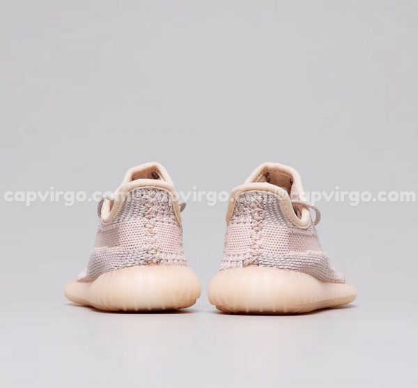 Giày trẻ em Yeezy 350 màu hồng nhạt PK GOD