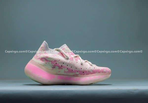 Giày Adidas Yeezy 380 trẻ em màu hồng