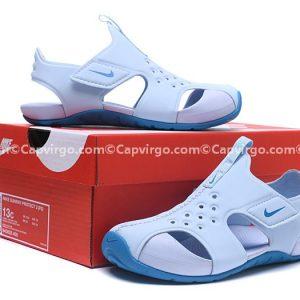 Sandal Nike Sunray trẻ em màu xanh nhạt siêu nhẹ