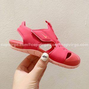 Sandal Nike Sunray trẻ em màu đỏ siêu nhẹ
