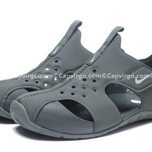 Sandal Nike Sunray trẻ em màu xám siêu nhẹ
