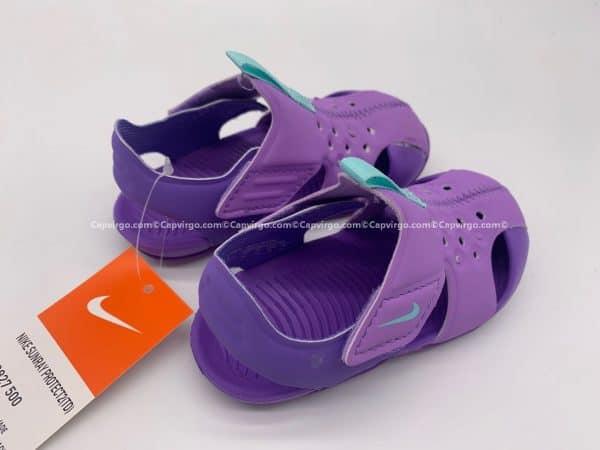 Sandal Nike Sunray trẻ em màu tím siêu nhẹ