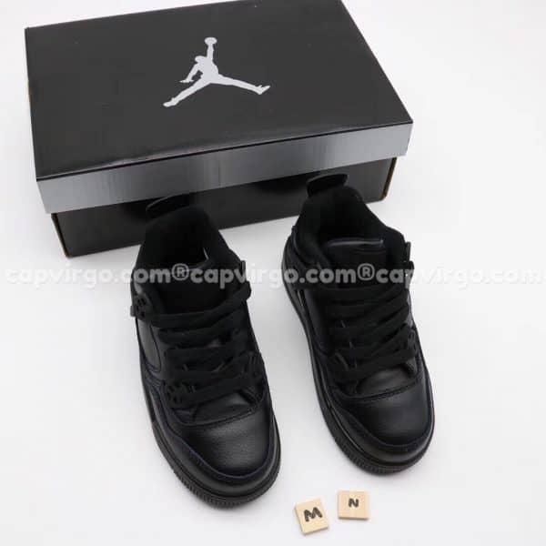 Giày trẻ em Air Jordan 4 màu full đen