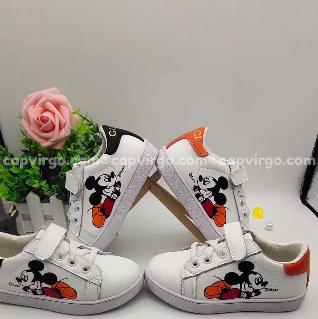 Giày Gucci Chuột Mickey trẻ em