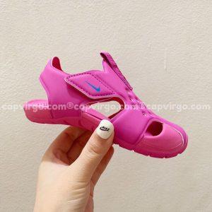 Sandal Nike Sunray trẻ em màu hồng siêu nhẹ