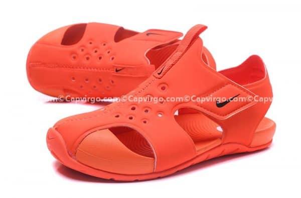 Sandal Nike Sunray trẻ em màu cam siêu nhẹ