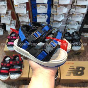 Sandal NB trẻ em 2 quai dán dính màu xanh dương