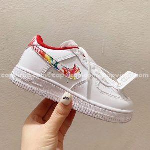 Giày trẻ em nike Air Force 1 2020 màu trắng
