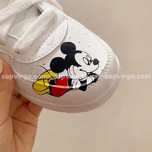 Giày trẻ em nike Air Force 1 chuột Mickey
