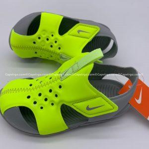 Sandal Nike Sunray trẻ em màu xanh cốm siêu nhẹ