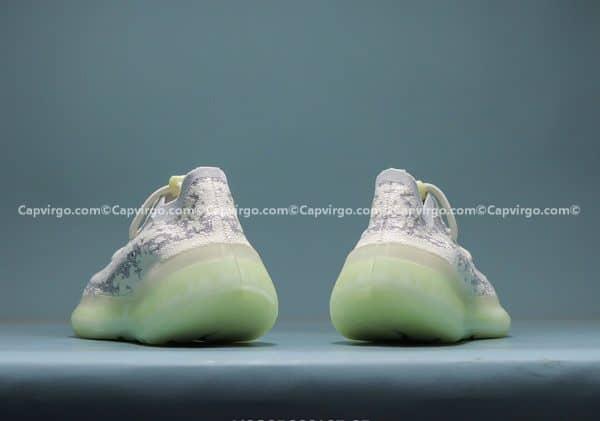 Giày Adidas Yeezy 380 trẻ em màu ghi trắng