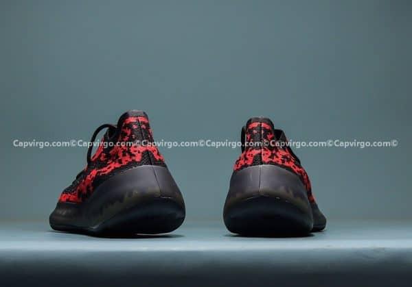 Giày Adidas Yeezy 380 trẻ em màu đen đỏ