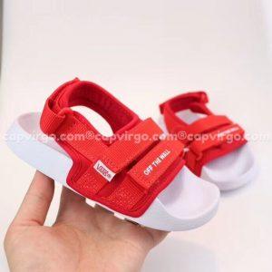 Sandal Vans trẻ em 2 dây màu đỏ