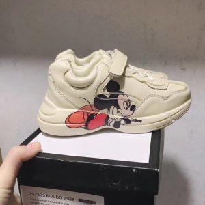 Giày Gucci trẻ em Rhyton Vintage chuột Mickey