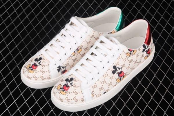 Giày gucci ACE siêu cấp họa tiết mickey
