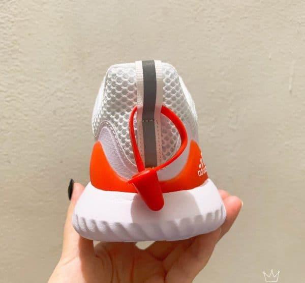 Giày Adidas AlphaBounce trẻ em màu trắng đỏ