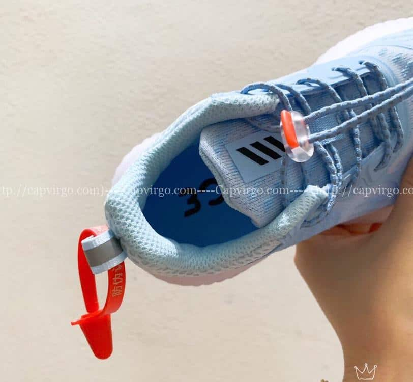 Giày Adidas AlphaBounce trẻ em màu xanh da trời