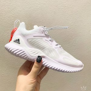 Giày Adidas AlphaBounce trẻ em full trắng