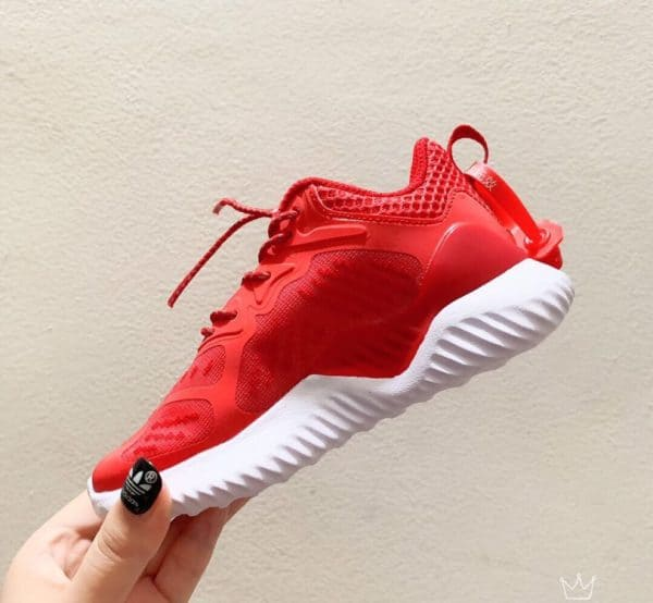 Giày Adidas AlphaBounce trẻ em màu đỏ trắng