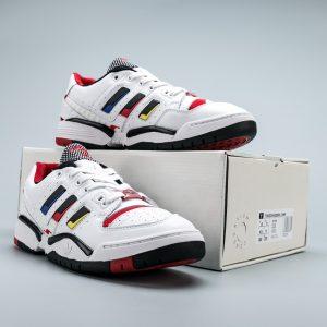 Giày Adidas Torison Edberg Comp Trắng Sọc Đỏ Siêu Cấp
