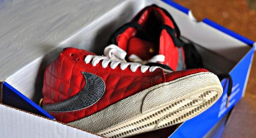 Giày Nike x Supreme