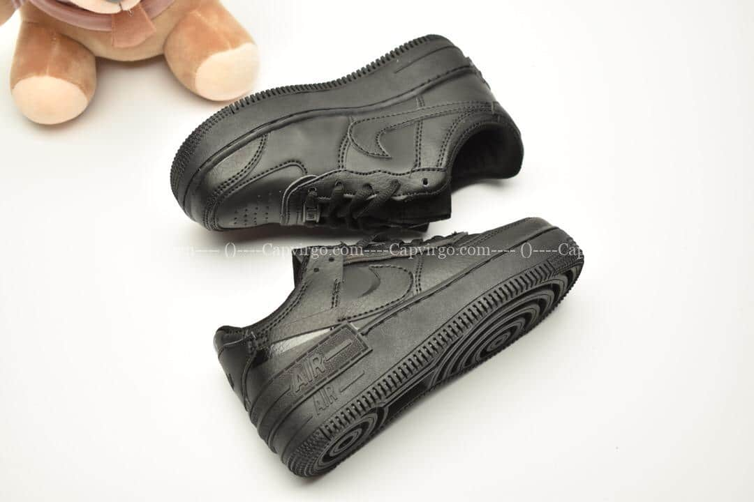 Giày trẻ em nike Air Force 1 Shadow full đen